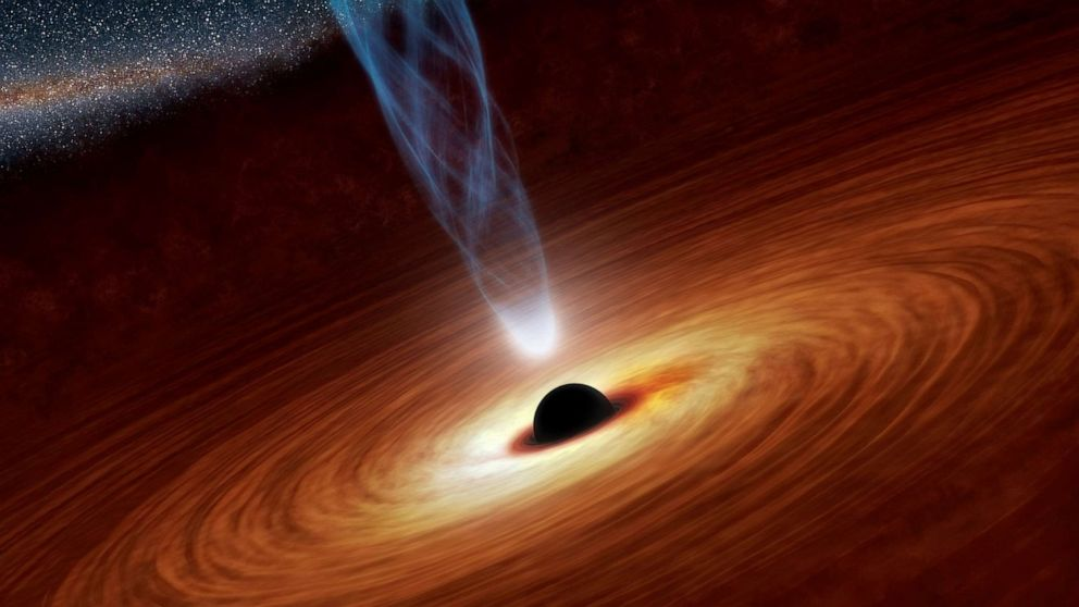 Astronomers reveal first image of a black hole
