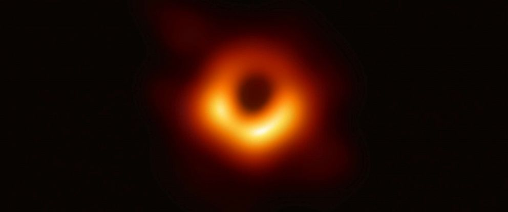 PHOTO: First image of black hole was released by scientists on April 10, 2019.