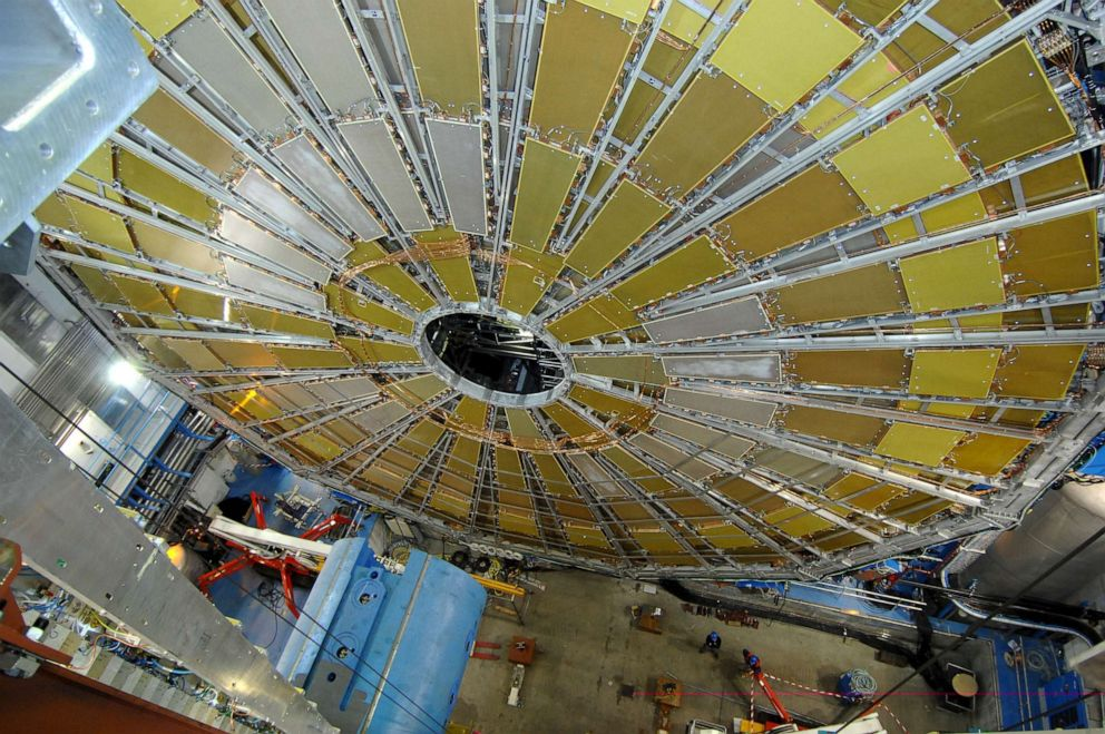 PHOTO: The Large Hadron Collider, a particle accelerator.