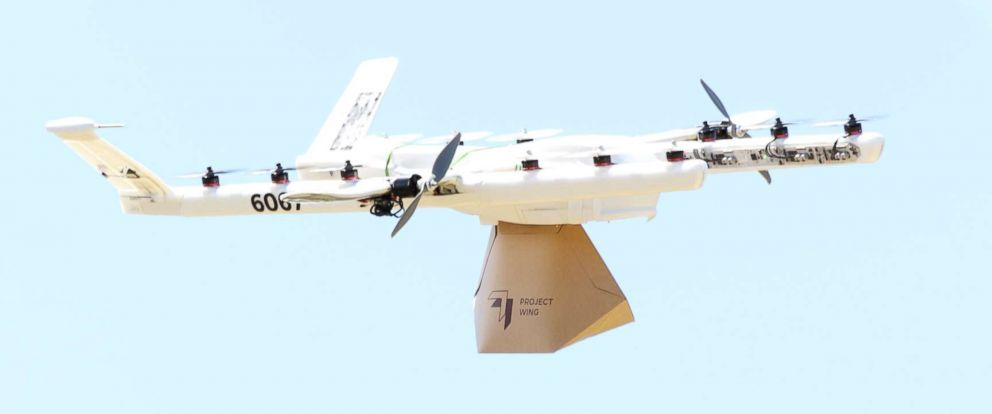 Burrito-dropping drones test deliveries to customers in