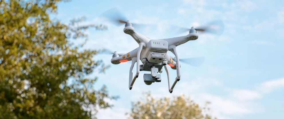 PHOTO: A drone flies in this undated stock photo.