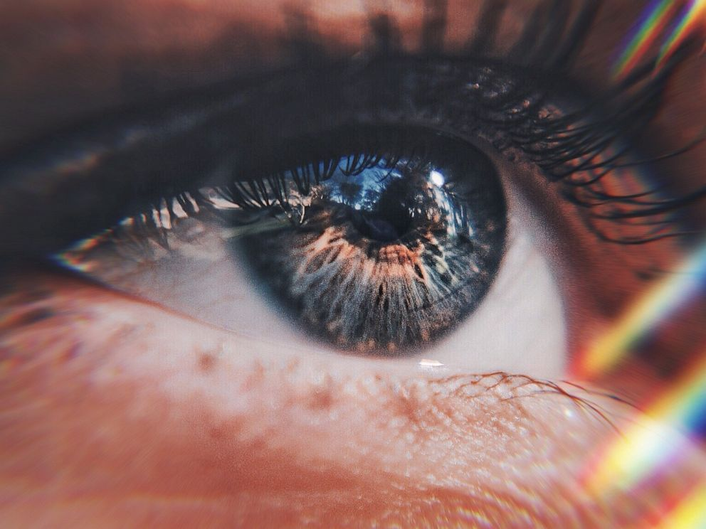 PHOTO: An undated close-up photo of an eye taken in Beauteville, France.