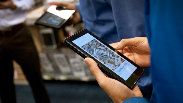 PHOTO: Amazon Kindle Fire tablets