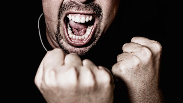 """PHOTO: Researchers at Ohio State University tested a relatively new theory on anger management called """"self-distancing."""" Researchers at Ohio State University tested a relatively new theory on anger management called """"self-distancing."""""""