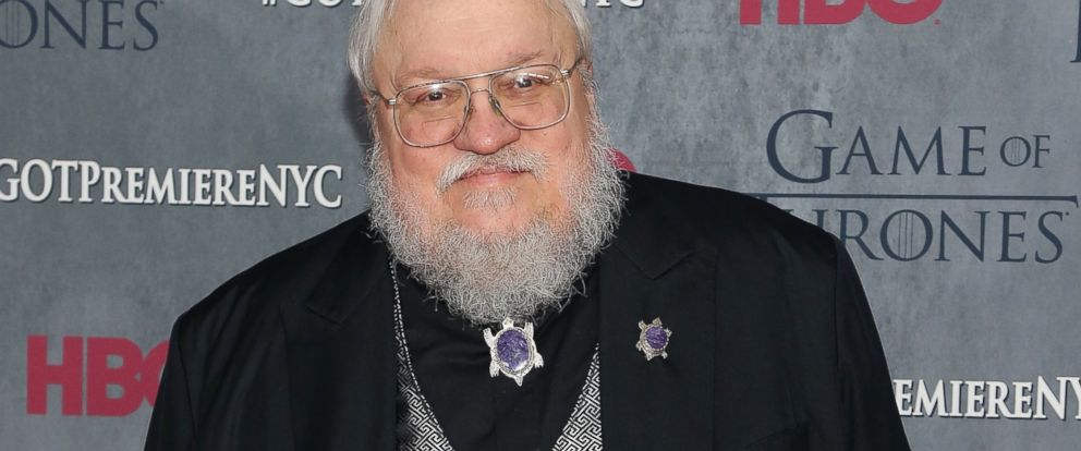 "PHOTO: Series creator George R.R. Martin attends the ""Game Of Thrones"" Season 4 premiere at Lincoln Center on March 18, 2014 in New York City."