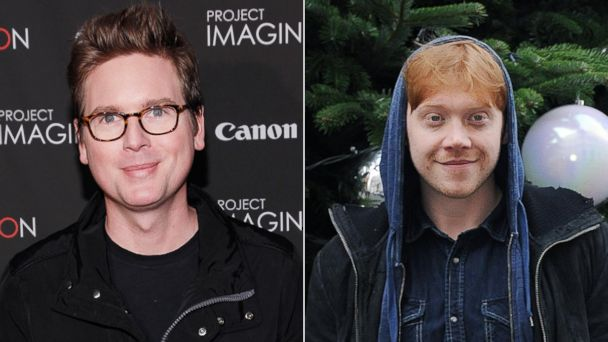 PHOTO: Biz Stone, left, is being portrayed by Rupert Grint in the upcoming Twitter film.