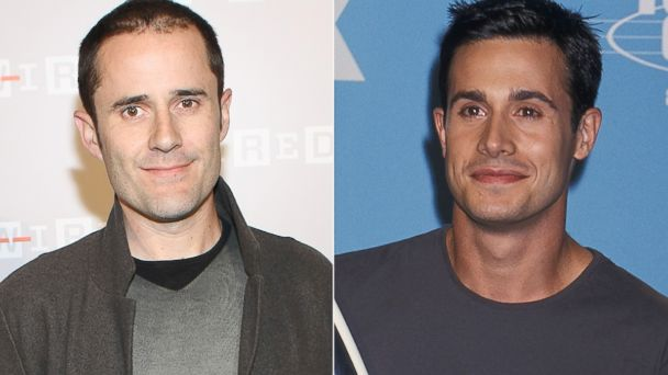 PHOTO: Freddie Prinze Jr. will be playing Ev Williams, left, in the upcoming Twitter movie.