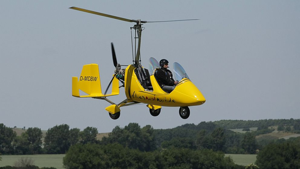 Gyrocopter: How the Chopper, Like the One That Landed at ...