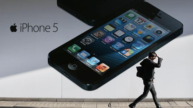PHOTO: iPhone 5 ad