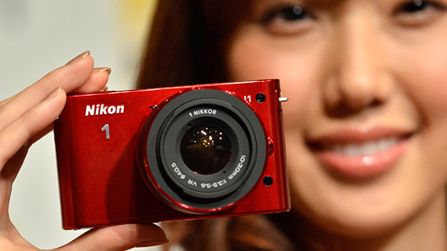 PHOTO: Nikon 1 J1 camera