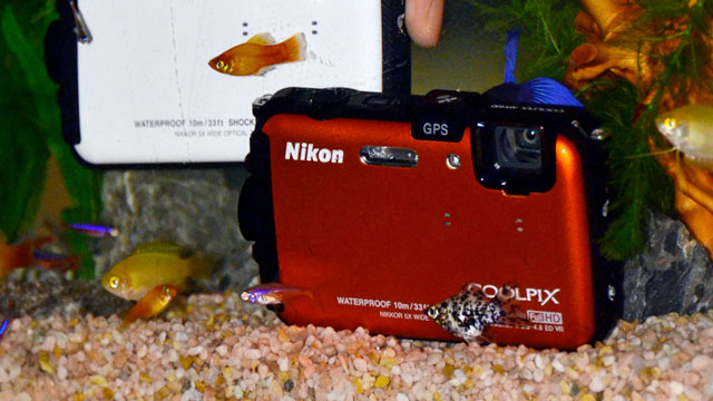 PHOTO: Nikon Coolpix AW100
