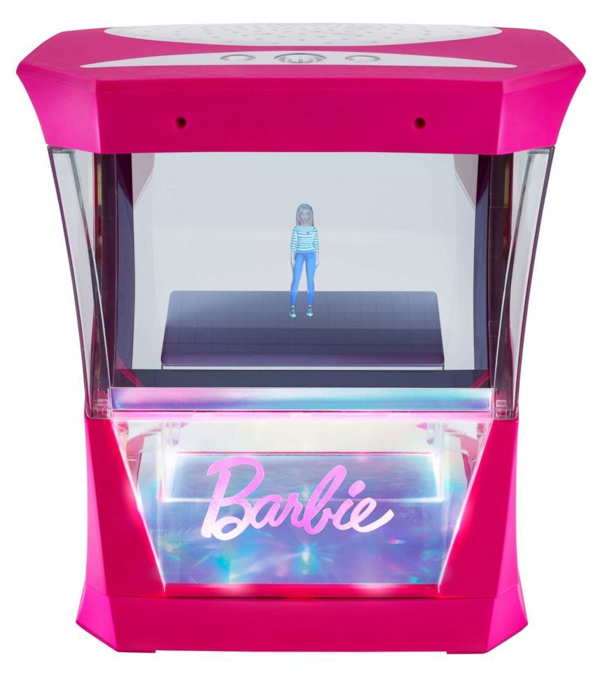 PHOTO: Mattels Hello Barbie Hologram is now set to be released in 2018 after citing additional testing as the reason for delay.