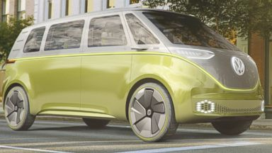 2162a3e10e Volkswagen s Iconic Microbus Gets Update for the Driverless Age