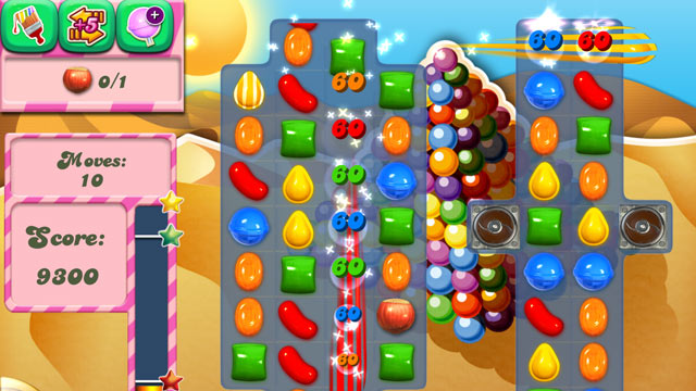 PHOTO: Candy Crush has become one of the most popular games in the world to play on a smartphone or tablet.