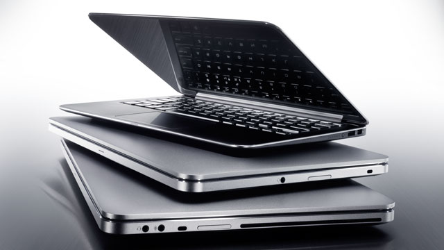 PHOTO: Dell XPS 14 and 15 Ultrabooks