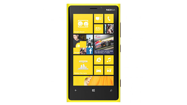 PHOTO: Nokia's Lumia 920 runs Windows Phone 8 and has a Pureview camera.
