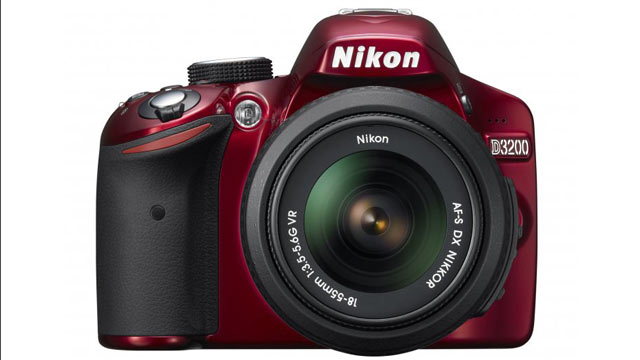 PHOTO: Nikon's new high-end DSLR -- the D3200 -- boasts a 24-megapixel sensor.