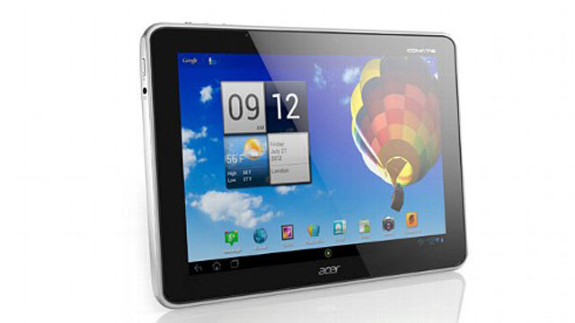 PHOTO: Acer's Iconia Tab A510 tablet has a quad-core processor and Android 4.0.