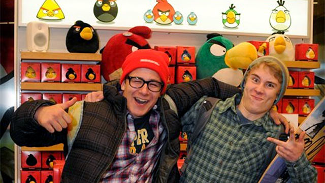 PHOTO: The world?s first Angry Birds shop is now open in Helsinki, Finland.