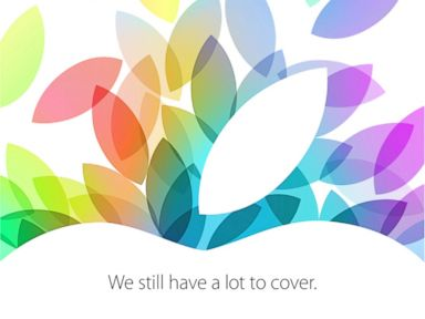 PHOTO: Apples invitation to its Oct. 22 event.