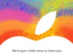 PHOTO: An invite to Apples Oct. 23rd event, where it is expected to announce the iPad Mini.