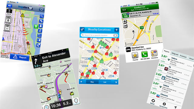 Must-Have Road Trip Apps: Waze, iExit, Trapster, Yelp, for iPhone