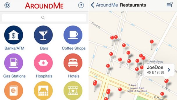 PHOTO: Quickly find out information about your surroundings.