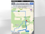 PHOTO: Australia police discourage use of Apple Maps because of geographic inaccuracies.