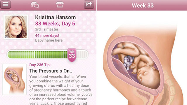 Pregnant Use Your Smartphone 12 Best Pregnancy Apps Abc News