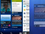 PHOTO: RIMs forthcoming BlackBerry 10 software will include a new homescreen and notifications.
