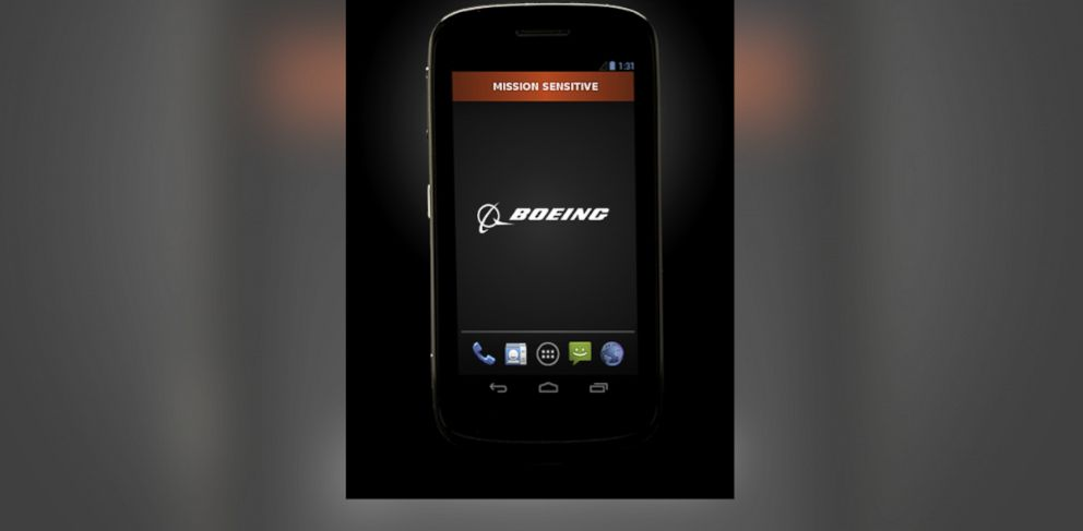 PHOTO: Pictured is a Boeing Black smartphone.