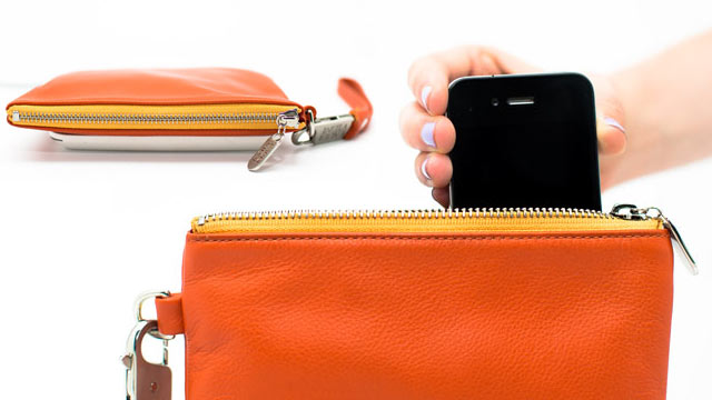 PHOTO: Everpurse, a purse with a built-in battery for charging your phone, will be available in March 2013.