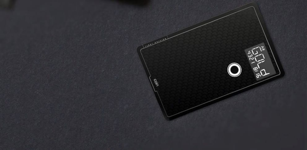 PHOTO: Coin is a new app and gadget that combines all your credit and debit accounts into a single card.