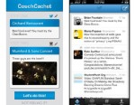 PHOTO: This Couchcachet app connects to your Foursquare account, searches cool places nearby, and then checks you into them so you can look like your out for a night on the town when youre really at home.