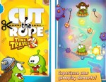 PHOTO: In the game Cut the Rope: Time Travel the candy hungry monter, Om Nom returns, but this time he travels back in time to meet his ancestors.
