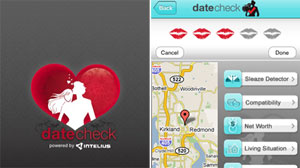 iPhone App Date Check's Sleaze Detector Runs Background