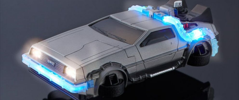 PHOTO: A flying DeLorean iPhone case is for sale in Japan.