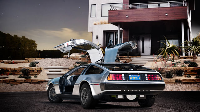 PHOTO: A DeLorean sports car, refitted with an electric motor. The DeLorean Motor Company of Humble, Texas, hopes to sell custom-made electric DeLoreans by 2013.