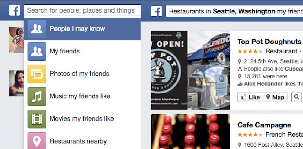 Facebook Graph Search Function Rolls Out to All U S  Users - ABC News