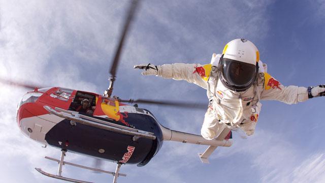 Felix Baumgartner, record-setting skydiver