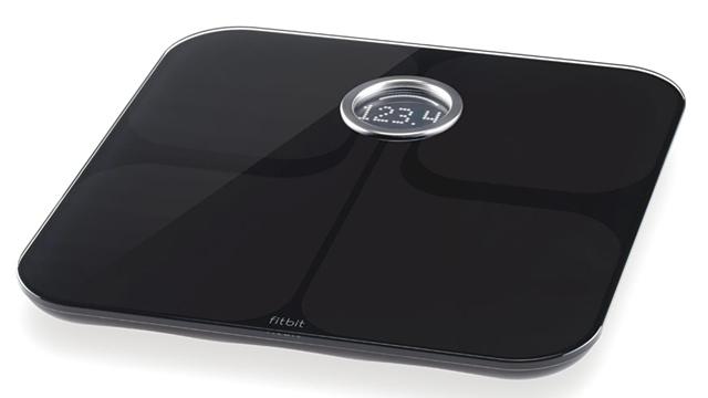 PHOTO: FitBit Aria scale
