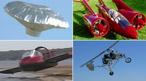 PHOTO: Experimental Flying Machines