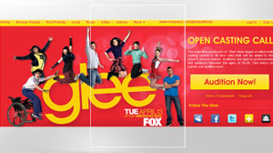 glee auditions on myspace