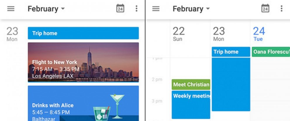 Google Calendar App Now Available to iPhone Users - ABC News