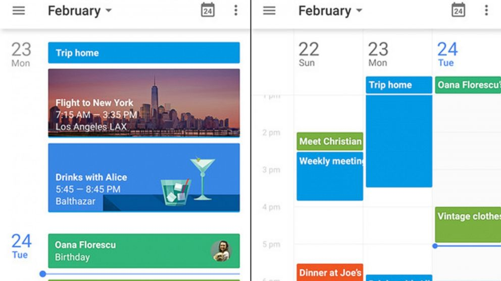Google Calendar App Now Available To Iphone Users Abc News