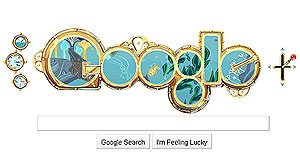 "Google launched a first-of-its-kind interactive Google doodle themed after Jules Verns famous novel ""Twenty Thousand Leagues Under the Sea""."