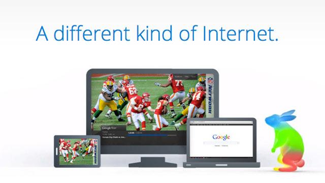 PHOTO: Google Fiber, Googles broadband internet network, is launching first in Kansas City, Kansas.