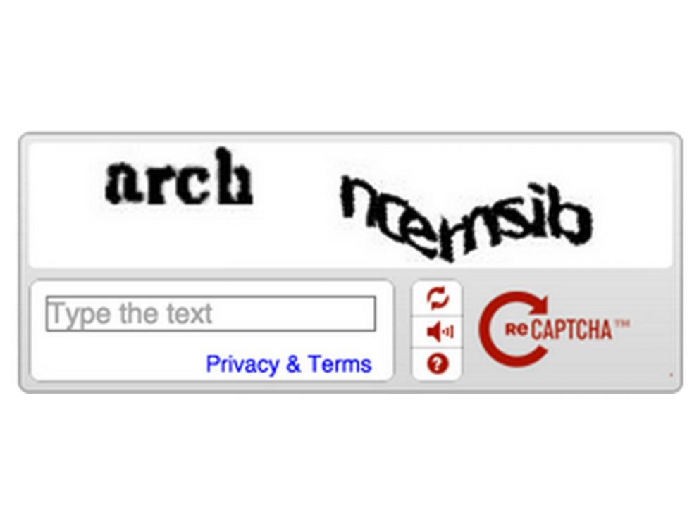 Google's ReCAPTCHA: An Easier Way to Prove You're Not A