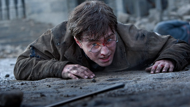 PHOTO:Scene from Harry Potter and the Deathly Hallows - Part 2