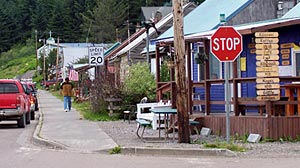 Photo: Internet Keeps Remote Alaska Town Together: Where to Get Web Access? At the Library, Which Gets New Life From It